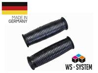 2 x Universal Schubkarrengriff Griff Schubkarre Sackkarre - 23mm Schwarz **Neu**