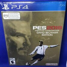 PES2019 David Beckham Edition, Ps4 Brand New Factory Sealed * Soccer