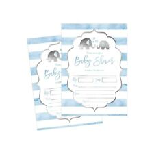 50 Fill in Baby Shower Invitations, Baby Shower Invitations Elephant, Jungle,...