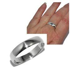 Bague anneau homme femme argent massif 925 5mm 66 bijou