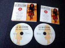 2xCD Le Mystere Des Voix Bulgares Volumes 1+2 Bulgarische Stimmen Chöre Cellier