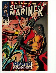 Sub-Mariner #6  2nd Tiger Shark 1968 Marvel VF/NM