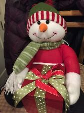 Christmas musical snowman