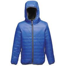 Kids Regatta Boys Girls Stormforce Thermal Jacket Coat - Tra454 Royal Blue 9-10 Years