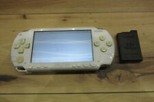 Sony PSP 1000 console Ceramic White w/battery pack Japan a179