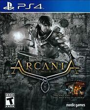 PlayStation 4 : ArcaniA - The Complete Tale - PlayStatio VideoGames