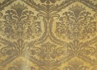LUIGI BEVILACQUA Silk Jacquard, Damasco 145/31089R, 100% Silk, Antique Gold