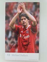 MICHAEL BALLACK ♤♤ FC Bayern München ♤♤ Autogrammkarte signiert