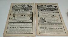 Forest and Stream/Rod and Gun Magazine, 1885-1912 Original