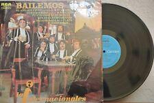 LOS INTERNACIONALES BAILEMOS MEXICAN LP ROCK EN ESPAÑOL