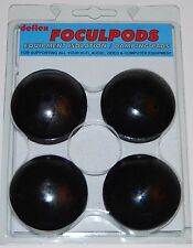 DEFLEX AUDIO FOCULPODS & POLIPODS ABSORBING ISOLATION FOR SPEAKERS CD AMPS HIFI