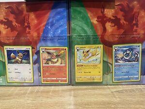 Pokemon Vivid Voltage Eevee Flareon Jolteon Vaporeon 130 026 047 030 / 185 Mint