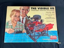 RENWAL BLUEPRINT MODELS Visible V8 Operating Auto Engine Assembly Kit 1960