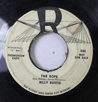 Hear! Doo Wop Promo Kansas City 45 Billy Eustis - The Rope / I'M Sorry You'Re Go
