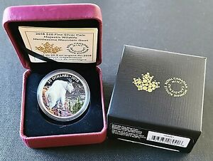2018 Canada $20 Fine Silver Coin - Majestic Wildlife - Mountain Goat