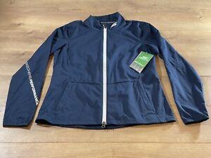 Skechers Women's Go Shield Full Zip Jacket Blue SZ S ( SP18WJA6 ) NWT!!!