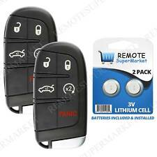 2 Remote For 2011 2012 2013 2014 2015 2016 2017 2018 Chrysler 300 Cherokee Start