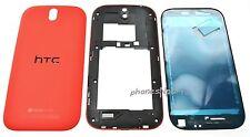 Genuine OEM HTC One SV Full Housing Case Frame Battery Door Cover Camera Lens