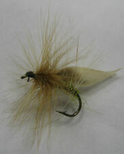 Three Irish Made Mayflies for Salmon & Trout Fishing Donegal Flies Size 10