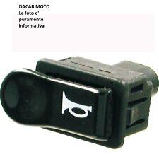 246130020 RMSBotón negro cuerno PIAGGIO125HEXÁGONO1994 1995 1996 1997