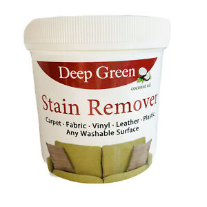 Deep Green Cleaner Stain Remover Eco-Friendly Concentrated Non-Toxic Coconut Oil