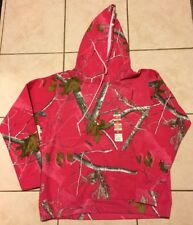REALTREE Ladies Pink Camo Hoodie Medium NWT