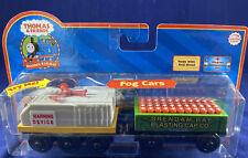 Thomas & Friends Wooden Railway Fog Cars Horn Blasting Cap Car Engine w/ Sounds