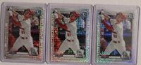 2020 Bowman Chrome Dylan Carlson #BCP106 Mojo Refractor Rookie SP Lot of 3!