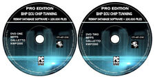 ECU Chip Tuning Files + Remap Database 100k & Software Mpps Galletto KWP2000 DVD