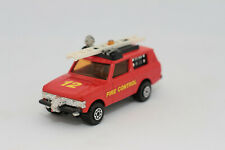 Range Rover Feuerwehr Firecar | Matchbox Speed Kings K-64 | Modellauto modelcar