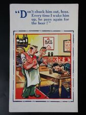BASS Pub & Drunk Theme DONT CHUCK ME OUT BOSS...... H.B.Ltd 4638