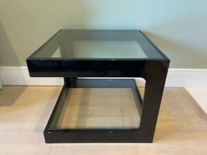 Dwell Mixta Side Table in Black High Gloss