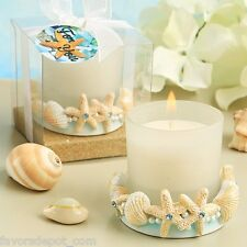 14 beach theme candle favors starfish wedding favor Bridal Shower favors