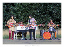 BEATLES  Amazing 1967 MM Tour photo superb 5x7 full band during I Am the walrus