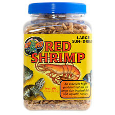 ZOO MED LARGE / JUMBO RED SHRIMP SUN DRIED 2.5 OZ FISH TURTLES FREE SHIP IN USA
