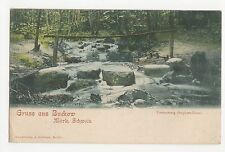 Germany, Gruss aus Buckow, Mark. Schweiz, Poetensteig Postcard, A591
