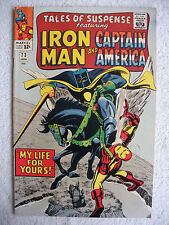 TALES OF SUSPENSE  #73  FN/VF  Captain America / Iron Man