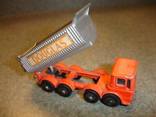 Old Vtg Antique Collectible Matchbox #51 8 Wheel Tipper Toy Made In England