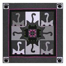Fun With Cats Quilt Pattern Peek A Boo Machine Applique Instrudtions