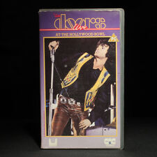 The Doors - Live At The Hollywood Bowl - VHS Video