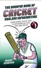 Very Good, The Bumper Book of Cricket Useless Information, Marc Dawson, Book