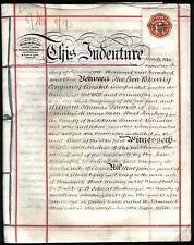 Vertrag LION BREWERY Englische Handschrift auf Pergament 1903 Original
