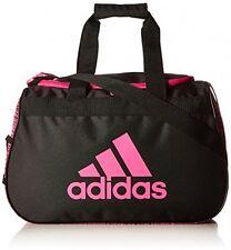 Adidas Diablo Duffel Bag Women Gym Fitness Yoga Small Backpack Black/Shock Pink