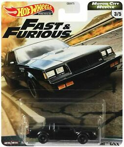 Hot Wheels Fast and Furious - Motor City Muscle '87 Buick Grand National GNX Car