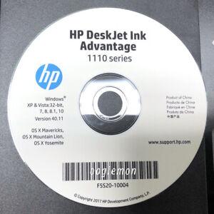 Setup CD ROM for HP Deskjet Ink Advantage 1110 Series Software 1111 1112 1115