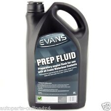 Evans Waterless Coolant Prep Fluid Engine Flush For All Cars  5 Litres- RA4754