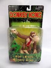 FIGURINE Nintendo 64 Donkey Kong 1999 High Swingin Donkey Toy Site Rareware neuf