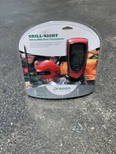 New listing Oregon Scientific Aw131 Grill Right Wireless Bbq and Oven Thermometer