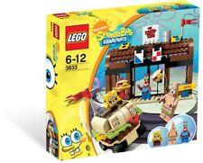 *NEW* Lego 3833 KRUSTY CRAB ADVENTURES Spongebob Mr Krabs Patrick Krabby Patty