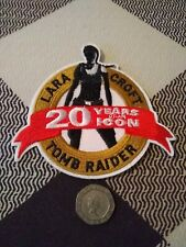 Lara Croft Tomb Raider Anniversary Embroidery Patch